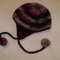 Crochet hat Reds