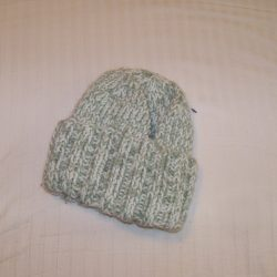 Crochet Hat Green