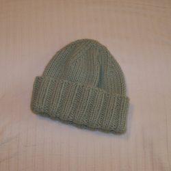 Knit Hat Green