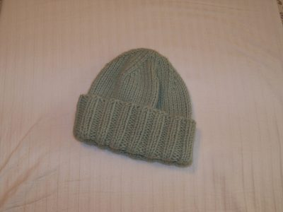 Knit Hat Green