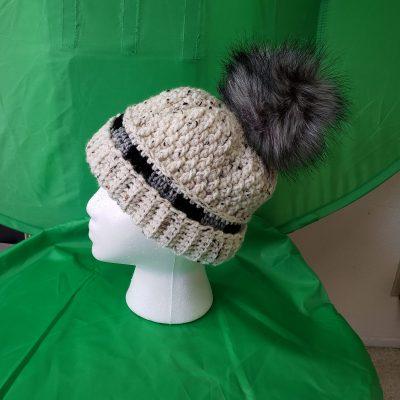 Medium Hat on Styrofoam Head.