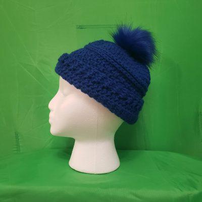 Blue Pom Head