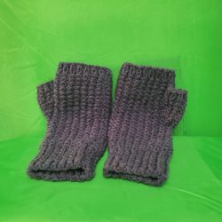 Fingerless-Purple-Knit